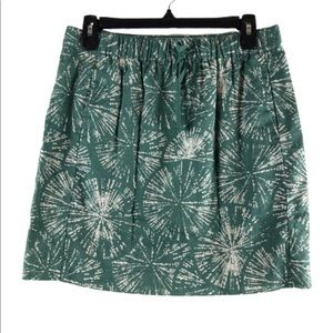 Fossil floral small mini skirt elastic waist